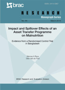 Impact and Spillover Effects of an Asset Transfer Programme on Malnutrition