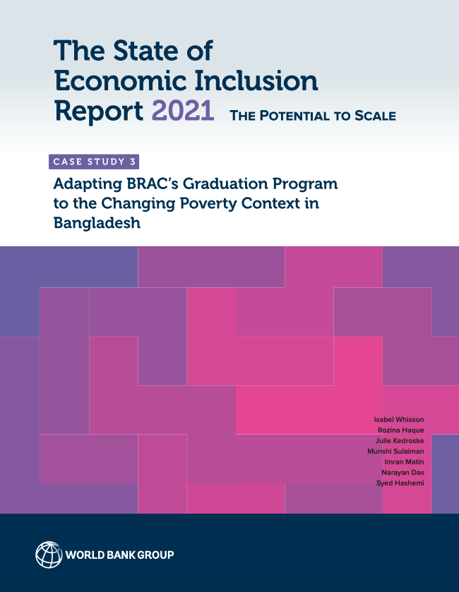 Case Study: Adapting BRAC's Graduation Program to the Changing Poverty Context in Bangladesh